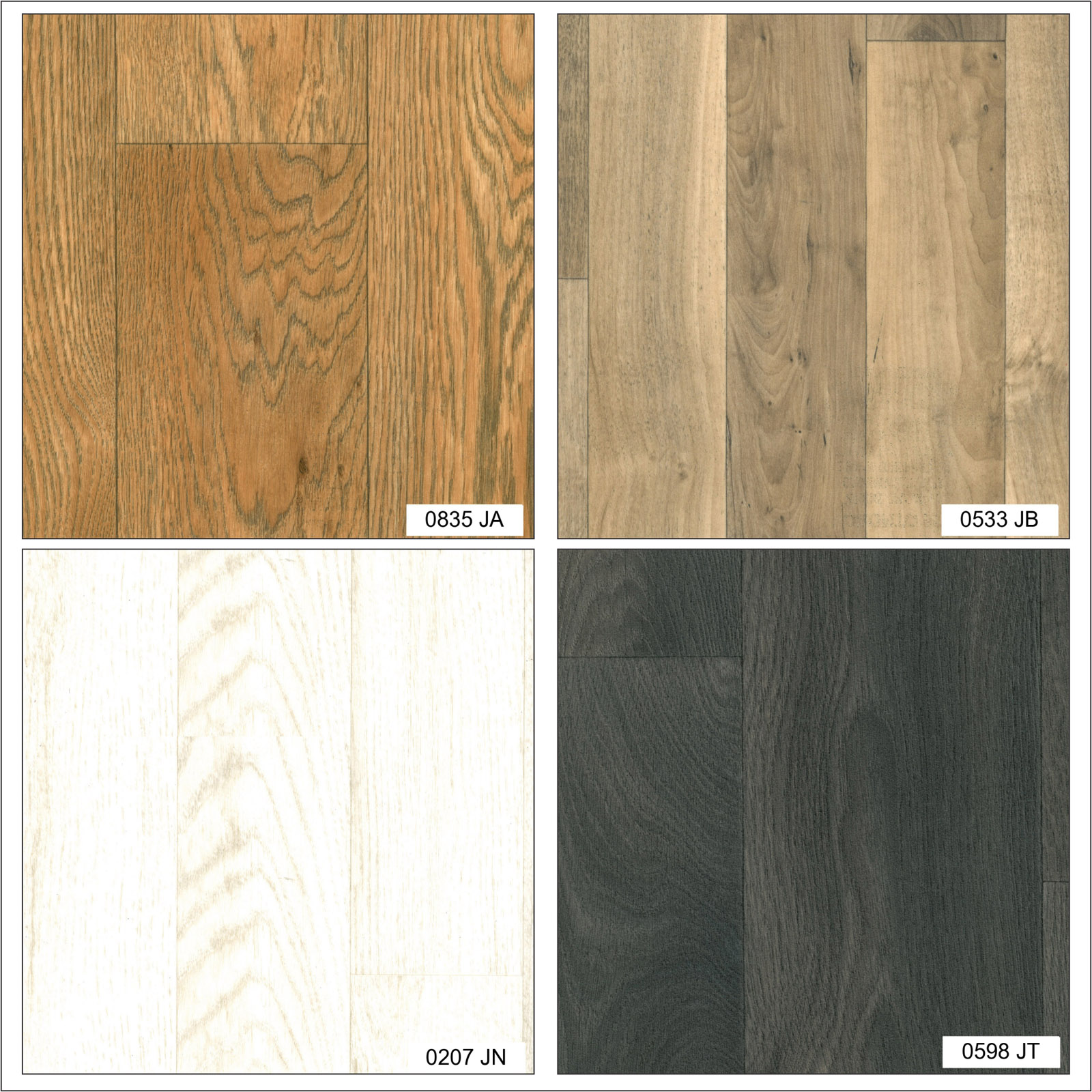 Wood plank non slip lino home office kitchen bedroom high for Lino flooring wood effect