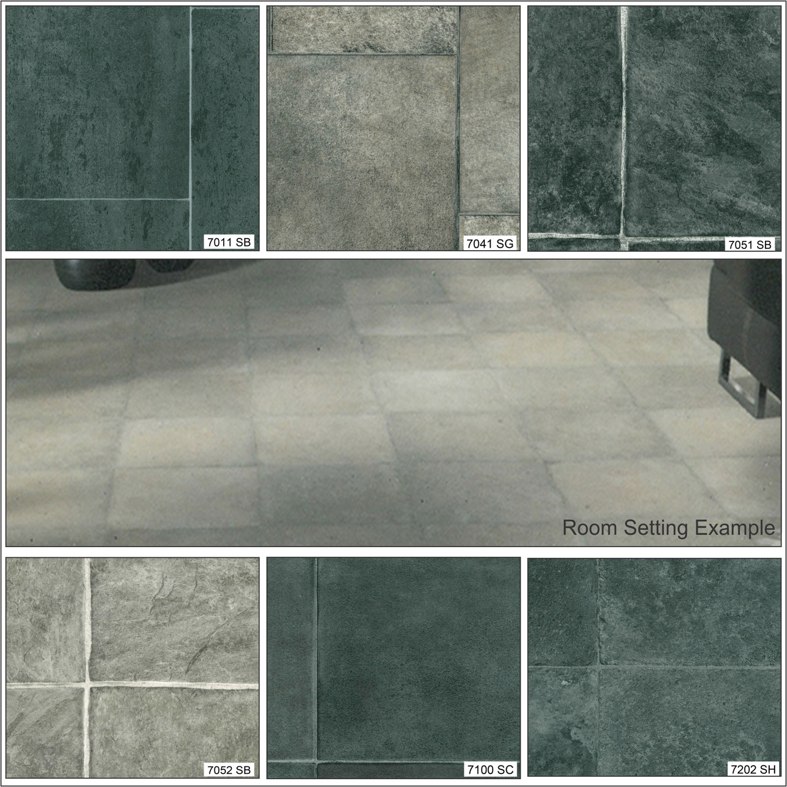 Stone effect anti slip high quality lino kitchen bathroom for Stone effect vinyl flooring
