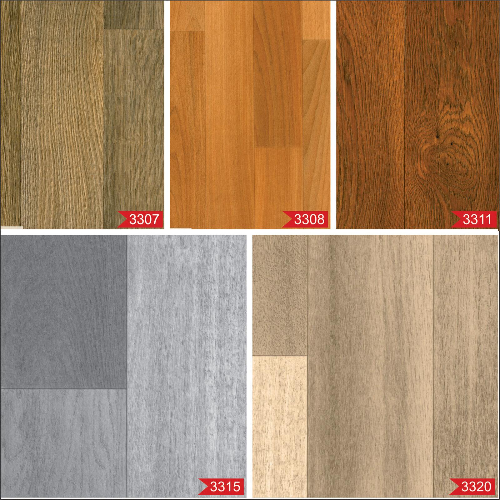 High quality anti slip wood effect vinyl flooring kitchen for Black wood effect lino