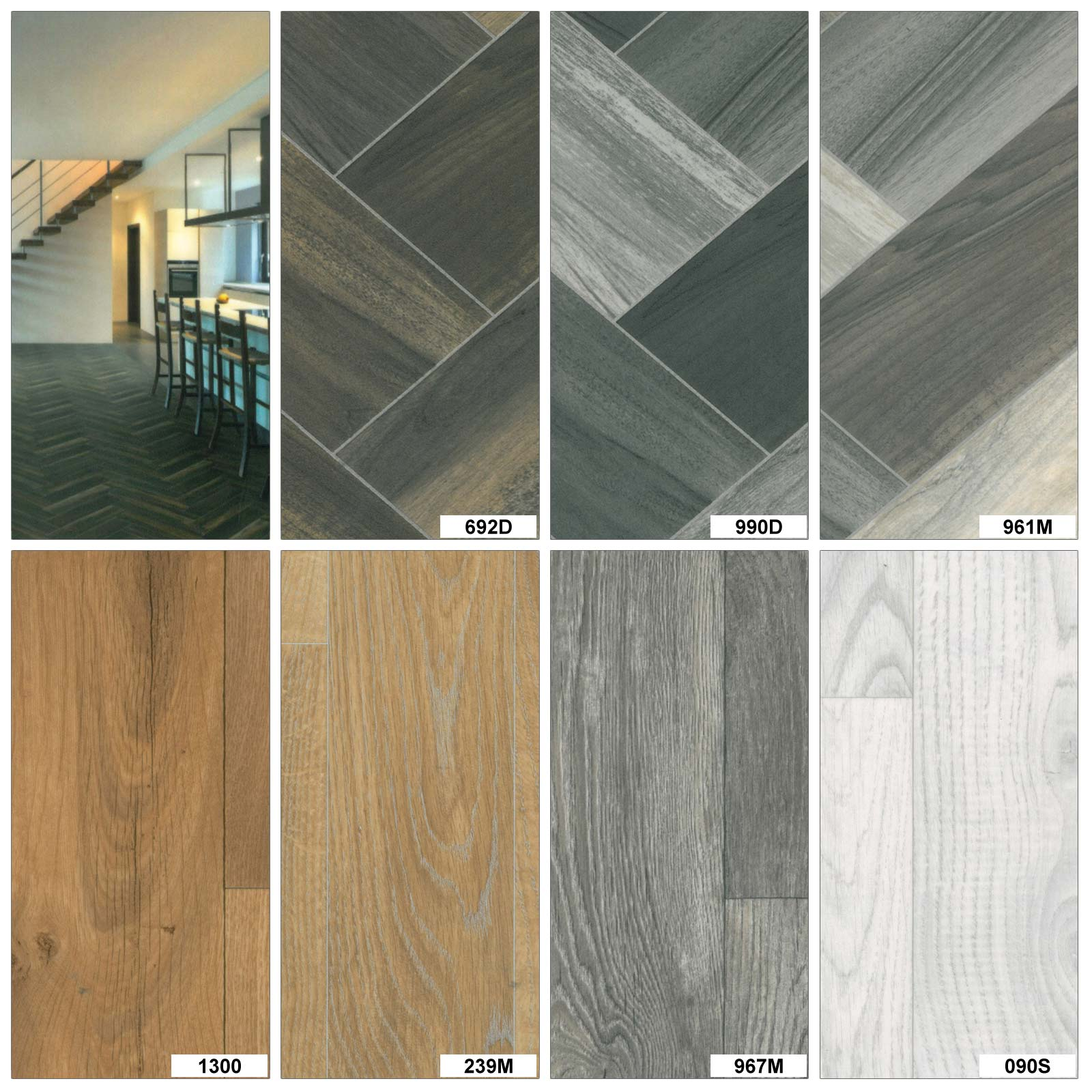 Details about High Quality Wood Effect Anti Slip Lino Home Kitchen Bedroom  Vinyl Flooring