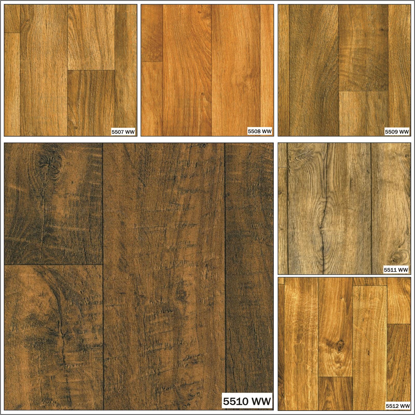 wood effect anti slip vinyl flooring home office kitchen